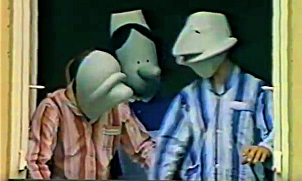 Moving Picture Mime Show Handle With Care 1982